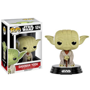 Star Wars Dagobah Yoda Pop! Vinyl Bobble Head Figure