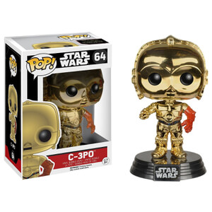 Star Wars: The Force Awakens C-3PO Gold Chrome Pop! Vinyl Figure