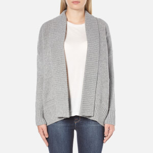 Barbour Women's Avalanche Oversized Cardigan - Grey Marl
