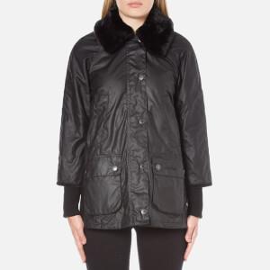 Barbour Women's Snow Bedale Jacket - Black