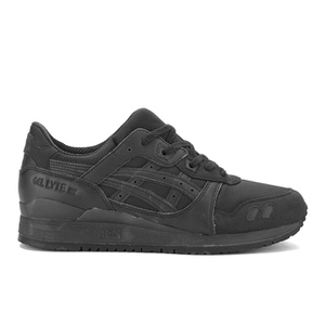 Asics Gel-Lyte III Leather Trainers - Black