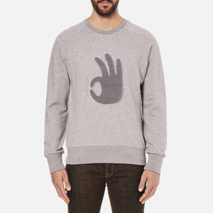 rag & bone Men's Okay Sweatshirt - Grey Heather