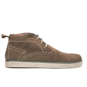 Wrangler Men's Billy Desert Suede Trainers - Taupe