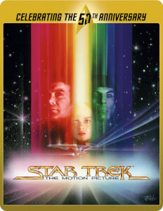 Star Trek 1 - The Motion Picture (Limited Edition 50th Anniversary Steelbook) (UK EDITION)