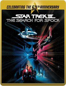 Star Trek 3 - The Search for Spock (Limited Edition 50th Anniversary Steelbook) (UK EDITION)