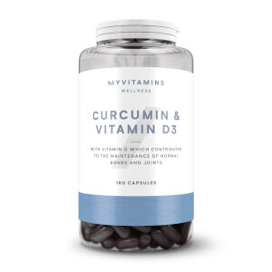 Curcumin & Vitamin D3 Capsules