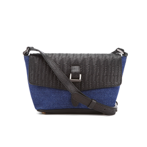 meli melo Women's Maisie Cross Body Bag - Blue Wash Denim
