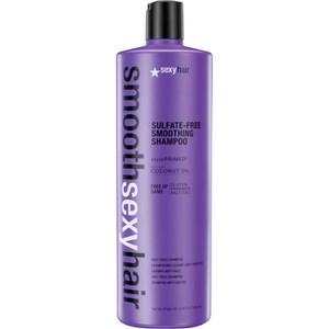 Champú antiencrespamiento Smooth Sexy Hair de 1000 ml