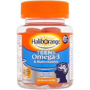 Haliborange Teen Omega 3 Softies - 30 Softies