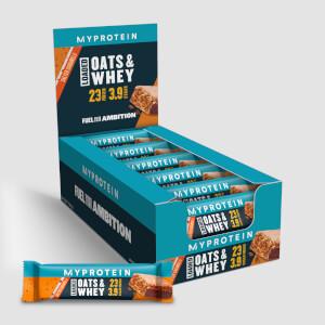 Myprotein MyBar Oats & Whey, Salted Caramel, Box, 18 Bars