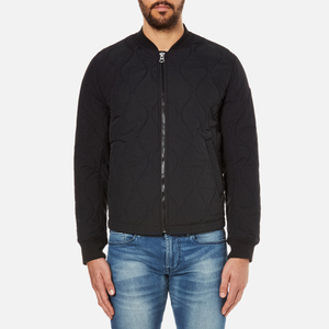 BOSS Orange Men's Okenzie Zipped Jacket - Black