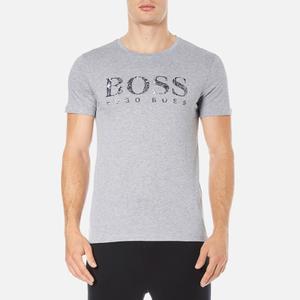BOSS Orange Men's Tommi 3 Large Logo T-Shirt - Grey