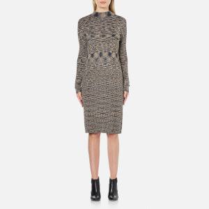 Vero Moda Women's Adinah Mila Long Sleeve Dress - Harvest Gold