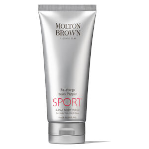 Molton Brown Re-Charge Black Pepper SPORT 4-in-1 -suihkusaippua (200ml)