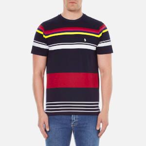 Luke 1977 Men's Cilla Yarn Dyed T-Shirt - Marina Navy
