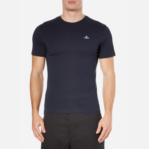 Vivienne Westwood MAN Men's Basic Jersey T-Shirt - Navy