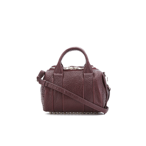 Alexander Wang Women's Rockie Bowler Bag with Silver Hardware - Beet