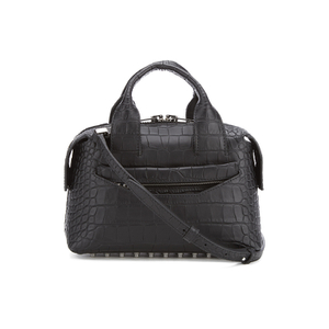 Alexander Wang Women's Rogue Small Croc Satchel - Black