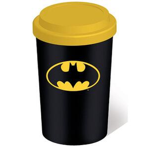 DC Comics Batman Ceramic Travel Mug - Black