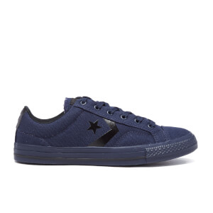 Converse Men's CONS Star Player Canvas Trainers - Obsidian