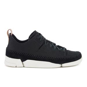 Clarks Originals Women's Trigenic Flex Shoes - Black Nubuck