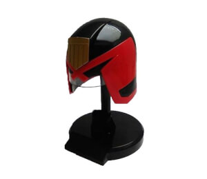 Planet Replica's Dredd Mini Helmet Figure