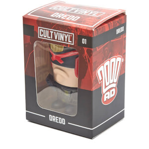 Judge Dredd Cult Vinyl Figure