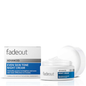 Fade Out ADVANCED Even Skin Tone Night Cream 50ml