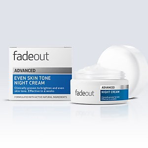 Fade Out ADVANCED 均勻膚色晚霜 50ml