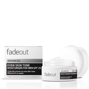 Crema hidratante ADVANCED Even Skin Tone para hombre FPS 25 de Fade Out