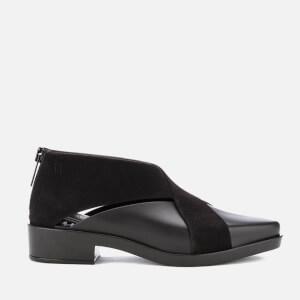 Melissa Women's X Flat Ankle Boots - Black Flock