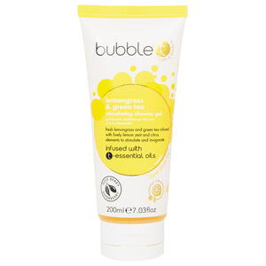 Bubble T -suihkusaippua, Lemongrass & Green Tea 200ml