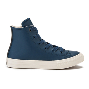 Converse Kids' Chuck Taylor All Star II Hi-Top Trainers - Athletic Navy/Parchment/Almost
