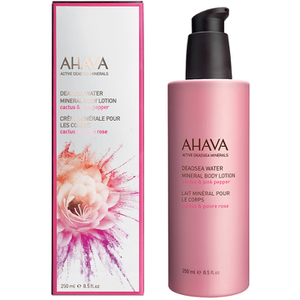 AHAVA Mineral Oil Body Mist – Cactus and Pink Pepper