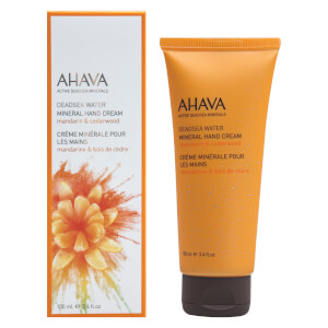 AHAVA Mineral Hand Cream – Mandarin and Cedarwood