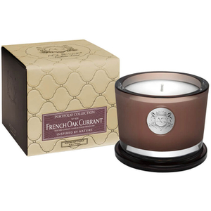 Aquiesse Small Glass Jar Candle - French Oak Currant