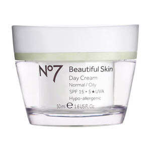 Boots No.7 Beautiful Skin Day Cream SPF 15 - Normal to Oily