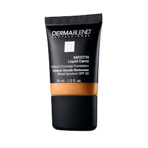 Dermablend Smooth Liquid Foundation Make-Up with SPF25 for Medium to High Coverage - 55W Copper