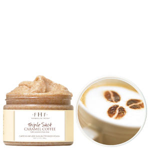 FarmHouse Fresh Triple Shot Caramel Coffee Shea Sugar Scrub