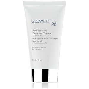 Glowbiotics Probiotic Acne Treatment Cleanser (2% Salicylic Acid)