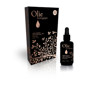 Olie Biologique 100 Percent Organic 23k Gold Argan Oil