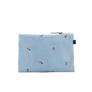 Herschel Supply Co. Network Large Disney Pouch - Denim/Black Webbing