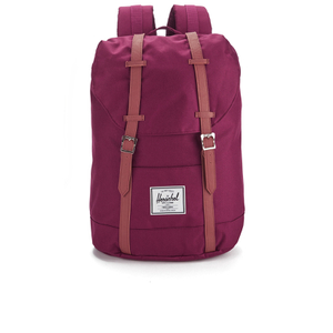 Herschel Supply Co. Retreat Backpack - Windsor Wine/Tan Synthetic Leather