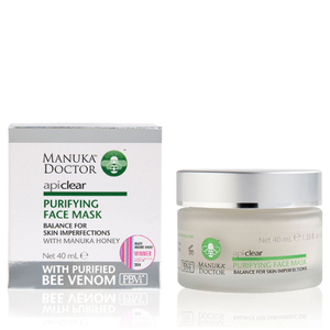 Mascarilla purificante Purifying Face Mask de ApiClear de Manuka Doctor (40 ml)
