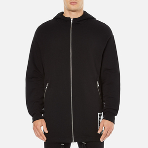 McQ Alexander McQueen Men's Sweat Parka - Darkest Black