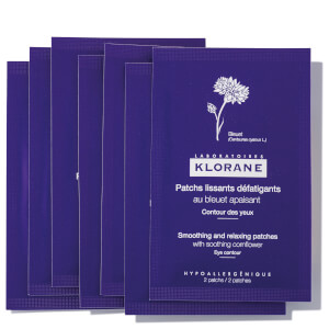 KLORANE Smoothing and Relaxing Patches with Soothing Cornflower 7 sets