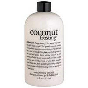 Philosophy Coconut Frosting Shampoo, Shower Gel and Bubble Bath