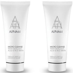 2x Alpha-H Micro Cleanse Super Scrub 100ml