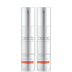 2 x asap Advanced Hydrating Moisturiser 50ml