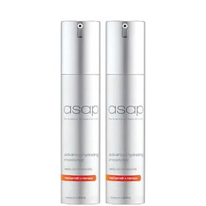 2 x asap Advanced Hydrating Moisturiser 50ml